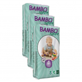 Pack Pañal Bambo maxi T4, 7-18Kg, 180ud