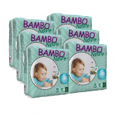 Pack Pañal Bambo junior T5 12-22Kg 162 unidades