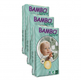 Pack Pañal Bambo midi T3 (5-9Kg) 198 unidades