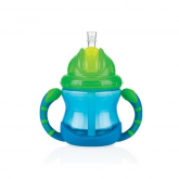 Vaso para Bebé Flip-It™ con doble asa azul - 240ml - 12m+