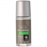 Desodorante Roll-On cristal Eucalipto Urtekram, 50ml