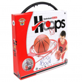 Canasta Basket metal 39 cm red y balón