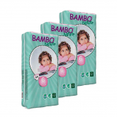 Pack Pañal Bambo T6 XL Plus 16-30 Kg 132 unidades