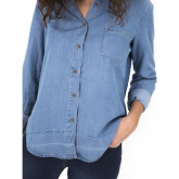 Camiseta Dolly  Light Blue Capitán Denim