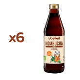Pack x6 Kombucha Original Voelkel 750 ml