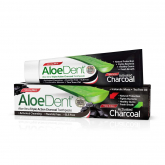 Creme dental com carvão ativado AloeDent 100ml