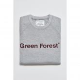 Sudadera ecológica Gris Green Forest