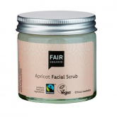 Exfoliante facial de Albaricoque sin plástico Fair Squared 50 ml