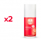 Pack Promo 2 uds Desodorante Roll-On Granada Weleda, 50 ml
