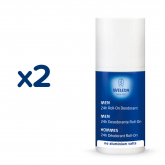 Pack Promo 2 uds Desodorante Roll-On Masculino Weleda, 50 ml