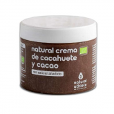 Creme de amendoim com cacau Bio Natural Athlete 300 g
