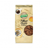 Cereales Pillows de Chocolate y Avellanas Biocop, 300 g