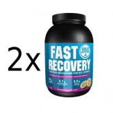 Pack PROMO 2 uds Fast Recovery Maracujá Gold Nutrition 1kg