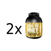 Pack PROMO 2 uds Total Whey Baunilha Gold Nutrition 2 Kg