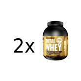 Pack PROMO 2 uds Total Whey Chocolate Gold Nutrition 2Kg
