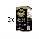Pack PROMO 2 uds Active Electrolytes Gold Nutrition 30 g