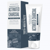 Creme dental carvão ativado e wondermint Schmidt's 100ml