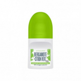 Desodorante roll-on bergamota e lima Schmidt's 50ml