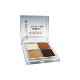 Paleta de sombras Natural Quattro Coffee & Cream Benecos 9 g