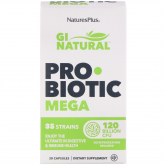 Probiótico Gi Natural Mega Nature's Plus 30 cápsulas