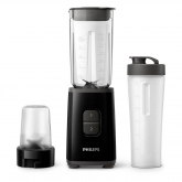 Liquidificadora preta Mini Daily collection HR2603/90 Philips