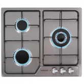 Placa Encastrable 3 Gas Inox Jocel