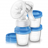 Extractor de leche manual con 3 vasos Philips Avent