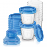 10 Recipientes para guardar leite materno 180 ml Philips Avent