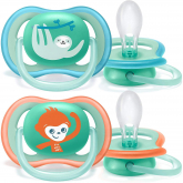 Pack de 2 chupetes Ultra Air Deco +18 meses Philips Avent Neutro