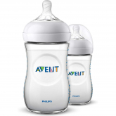 Pack de Biberão Natural Philips Avent 260 ml