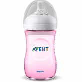 Biberão Natural de 260 ml Philips Avent Rosa