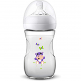 Biberão Natural Safari de 260ml Philips Avent Hipopótamo