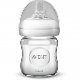 Biberón Natural de Cristal Philips Avent 120 ml