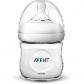 Biberão Natural de 125 ml Philips Avent Trasparente