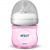 Biberão Natural de 125 ml Philips Avent Rosa