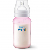 Biberão anti-cólicas de 330 ml Philips Avent Rosa