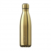 Garrafa Inox Chrome Ouro Chilly's 500 ml