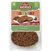 Cereal Burguer olivada y tomate seco Natursoy 160 g