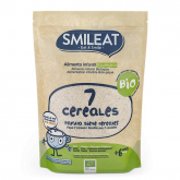 Pack 3x Papilla de 7 Cereales Eco Smileat 200 g