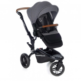 Silla Trider New Handle Jané Jet Black
