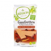 Galletas Barquillos de Chocolate Veganas Bisson 190g