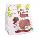 Galleta mini Cookies de Chocolate Negro Bisson 120gr
