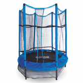 Cama elástica Infantil con red Devessport 152 x 183 cm