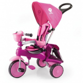 Triciclo Qd Play Ranger Devessport Rosa
