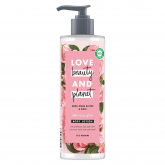 Loción corporal manteca de muru muru & rosa Brillo Love Beauty & Planet 400ml