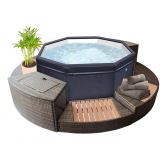 Spa hinchable Octopus NetSpa 4 plazas
