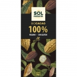 Chocolate Puro 100% cacau Sol Natural 70g