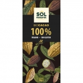 Chocolate Puro 100% cacao Sol Natural 70 g