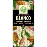 Chocolate branco com flocos de arroz Sol Natural 70 g