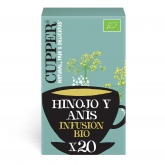 Infusão Fly High Bio Cupper 20 saquetas